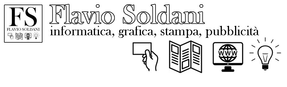 Flavio Soldani – Web design, grafica, pubblicità, consulenza informatica